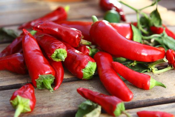 Over ripe chillies