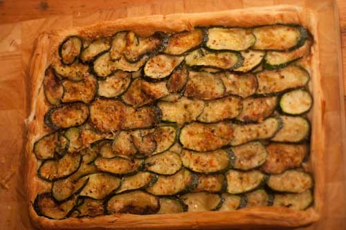Courgette and Chilli Tart Recipe