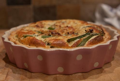 Asparagus and Chilli Tart Recipe