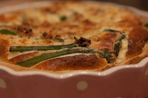 Asparagus and Chilli Tart