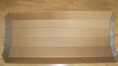 Cardboard Light Reflector