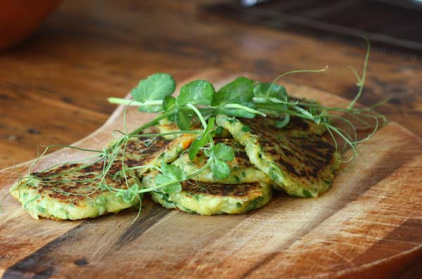 Courgette Fritters Recipe