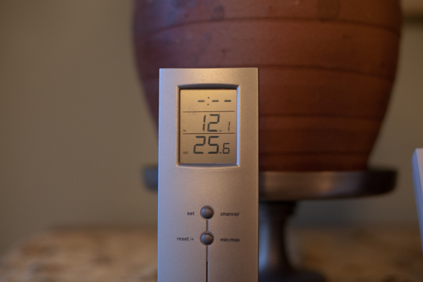 25 degrees