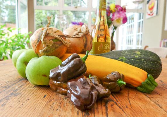 Chocolate Habanero Chutney